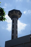 Minaret of Masjid Universiti Putra Malaysia at Serdang, Selangor, Malaysia Stock Photos
