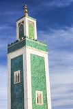 Minaret Medersa Bou Inania mosque Royalty Free Stock Photos