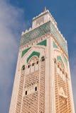 minaret morocco Arkivfoto