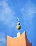 Minaret in Morocco Stock Photography