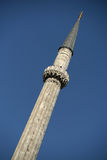 Minaret (mosquée d'Ayasofya) (Istanbul, Turquie) Photographie stock