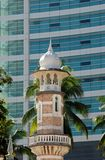 Minaret of mosque Royalty Free Stock Images