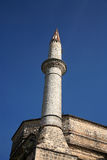 Minaret of a  mosque Royalty Free Stock Photo