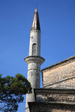 Minaret and mosque Stock Image