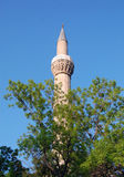 Minaret of a mosque Stock Photography