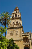 Minaret mosque Cordoba Royalty Free Stock Image