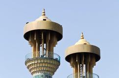 Minaret. Mosque minaret crown, Tehran, Iran Stock Photography