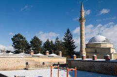 Minaret  and mosque Stock Photography