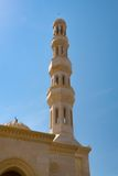 Minaret on a Mosque Royalty Free Stock Image