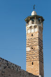 Minaret in the mosque of Hama Stock Image
