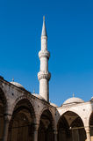 Minaret Of A Mosque Royalty Free Stock Photos