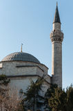 Minaret And Mosque Stock Photo