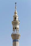 Minaret. Mosque minaret isolated on blue sky, Tehran, Iran Royalty Free Stock Image