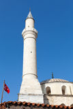 Minaret of a mosque in Kusadasi Royalty Free Stock Photo