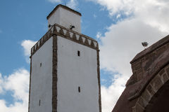 Minaret of a mosque, Morocco Stock Images