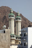 Minaret of a mosque in Muscat Royalty Free Stock Image