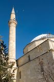 Minaret  and mosque Royalty Free Stock Images