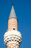 Minaret of a mosque in Plovdiv, Bulgaria Royalty Free Stock Photos