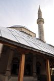 Minaret in Mostar. Bosnia Hercegovina Royalty Free Stock Images