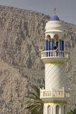 Minaret, Musandam. Photographie stock