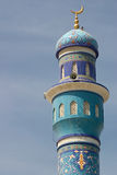 Minaret Muttrah stock photo
