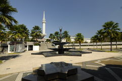 Minaret of National Mosque of Malaysia a.k.a Masjid Negara Stock Photo