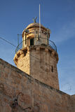Minaret near Chapel of the Ascension in Jerusalem. Israel Stock Photography