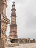 Minaret a New Delhi Stock Images