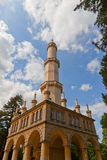 Minaret observation tower (1804) of Lednice Palace, Czech Republ Royalty Free Stock Images