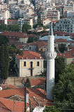 Minaret In The Old City Of Xanthi, Greece Stock Photo
