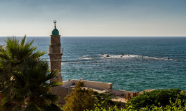 Minaret in Old Jaffa Stock Images