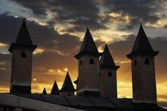 Minaret på solnedgången Royaltyfri Bild