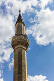 Minaret of the palace of the khan in bakhchisaray Stock Images