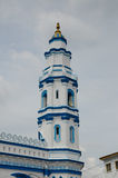 Minaret of Panglima Kinta Mosque in Ipoh Perak, Malaysia Royalty Free Stock Images