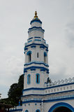 Minaret of Panglima Kinta Mosque in Ipoh Perak, Malaysia Royalty Free Stock Photography