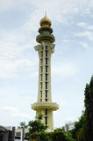 Minaret of Penang State Mosque in Penang Stock Photos