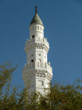 Minaret of Quba Mosque Stock Images