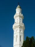 Minaret of Quba Mosque Royalty Free Stock Image