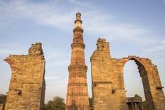 Minaret and rain Royalty Free Stock Images