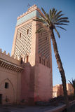 A Minaret Reaches for the Sky Stock Image