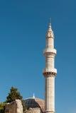 Minaret Rhodes royalty free stock images