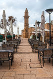 Minaret of roman period in Caesarea Royalty Free Stock Image