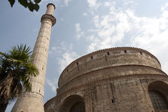 Minaret and Rotunda of Galerius - Thessaloniki Royalty Free Stock Photos