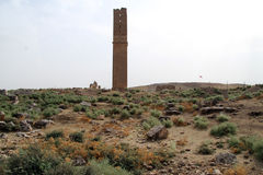 Minaret in Harran Royalty Free Stock Photo