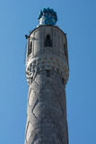 The minaret of the Saint Petersburg Mosque. Royalty Free Stock Photography