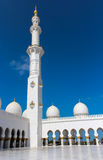 Minaret of Sheikh Zayed Grand Mosque Stock Image