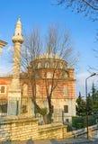 The minaret of Shep Sefa Hatun Mosque Stock Photo