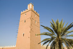 Minaret of the Sidi Ali Ou Said mosque Stock Images