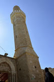 Minaret of Sidna Ali Mosque. Royalty Free Stock Image