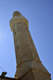 Minaret of Sidna Ali Mosque. Stock Photo